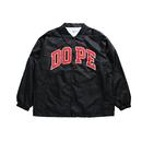 """18AW"" DOPE  / ドープ  D-WING COATH JACKET ナイロンコーチジャケット  -Black-"