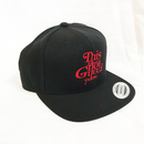 """""""19SS""""  PANDEMIC  パンデミック   Snap Back Cap -This is not-  -Black/Red-"""