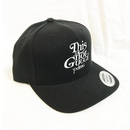 """""""19SS""""  PANDEMIC  パンデミック   Snap Back Cap -This is not-  -Black/White-"""