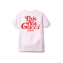 """18SS""   PANDEMIC  パンデミック  PDMC  This is not Tee -not G〇cci-    -L.Pink/Red-"