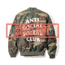 ANTI SOCIAL SOCIAL CLUB  アンチソーシャルクラブ ASSC  SR22 MA-1 Jacket Dark Camo -1color-
