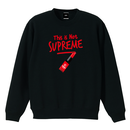 """18AW"" PANDEMIC  Not rouge   Sweat    -Black-"