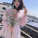 【春の新作】Pastel Blouse【Purple 】