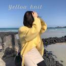 【韓国で大人気】YELLOW KNIT