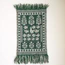 ヤノフ村の織物 タペストリー 水鳥と魚 #1022