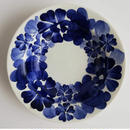 ヴウォツワヴェク陶器 小皿(直径15cm)#3350