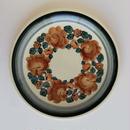 ヴウォツワヴェク陶器 平皿(直径24cm)#1160