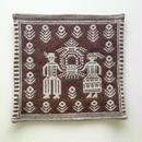 ヤノフ村の織物 クッションカバー 秋の収穫祭(39×36cm) #1525