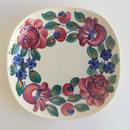ヴウォツワヴェク陶器 角皿(18.5cm四方)#3541