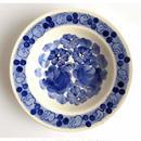 ヴウォツワヴェク陶器 中皿(直径17.5cm)#3199