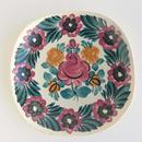 ヴウォツワヴェク陶器 角皿(18.5cm四方)#3536