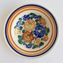 ヴウォツワヴェク陶器 中皿(直径17.5cm)#3377