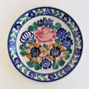 ヴウォツワヴェク陶器 平皿(直径19.5cm)#3542