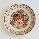 ヴウォツワヴェク陶器 平皿(直径24cm)#3553