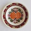 ヴウォツワヴェク陶器 中皿(直径17.5cm)#1144