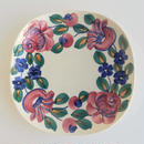 ヴウォツワヴェク陶器 角皿(18.5cm四方)#3537