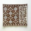 ヤノフ村の織物 クッションカバー 鳥と花と幾何学模様(38×35cm) #1538