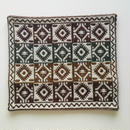 ヤノフ村の織物 クッションカバー 幾何学模様(41×35cm) #1199