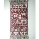 ヤノフ村の織物 タペストリー 村の暮らし(45×87cm) #2025