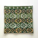 ヤノフ村の織物 クッションカバー 幾何学模様(38×37cm) #1536