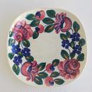 ヴウォツワヴェク陶器 角皿(18.5cm四方)#3539