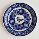 ヴウォツワヴェク陶器 平皿(直径19.5cm)#3547