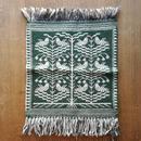 ヤノフ村の織物 タペストリー 鳥と木 #619