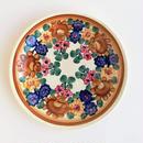 ヴウォツワヴェク陶器 平皿(直径19.5cm)#3216