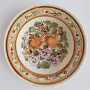 ヴウォツワヴェク陶器 中皿(直径17.5cm)#3528