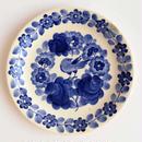 ヴウォツワヴェク陶器 平皿(直径19.5cm)#3215