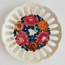 ヴウォツワヴェク陶器 飾り皿(直径17.5m)#3384