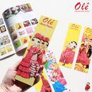 Olé Bookmarks・しおり(全5種・本体価格:¥480)