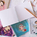 Ballet Papierオリジナルノート・なくなり次第終了(本体価格:¥620)