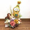 Happy Birthday NUTSフラワーアレンジ