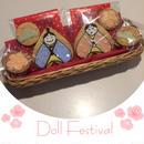 ひな祭りアイシングクッキー