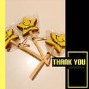 ロリポップクッキー  thank you