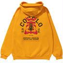 COCOLO BLAND×AKAZUCHI W-NAME BONG HOODIE(GOLD)