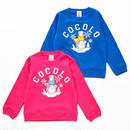 KIDS WINTER BONG CREWNECK SWEAT (BLUE&PINK)