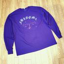 RAIN GANG pt2 L/S Tee(purple)