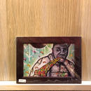 Paint Biz Markie Print A6(Brown Flame)