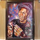 Paint Joey baddas Print A4(Black Flame)