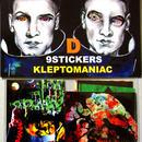KLEPTOMANIAC/ 9 STICKERS TYPE D