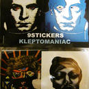 KLEPTOMANIAC / 9 STICKERS TYPE H