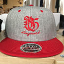 Banguard&Lefdeep snapback(GRAY/RED)