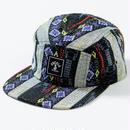 SQUARE LOGO JET CAP(BLUE PATTERN)