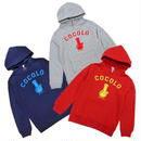 KIDS BONG HOOD PARKA (RED/GRAY/NAVY)