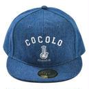ORIGINAL BONG SNAPBACK CAP (denim/dark denim/wash denim)