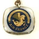 [Keychain] ブルボンキーホルダー AIR FRANCE  エールフランス海馬ロゴ
