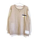 Cotton/Linen バイカラーPO/BE