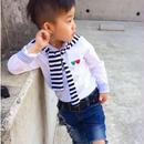 (即納)ストール付きホワイトシャツ♡